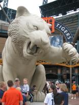 Awesome Tiger Statue - Comerica Park