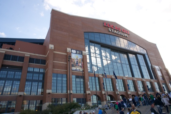 Lucas Oil Stadium - Home of the Indianapolis Colts
