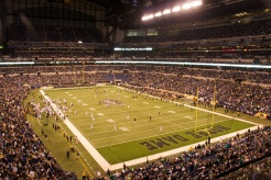 ND Game at Lucas Oil Stadium - Shamrock Series 2014