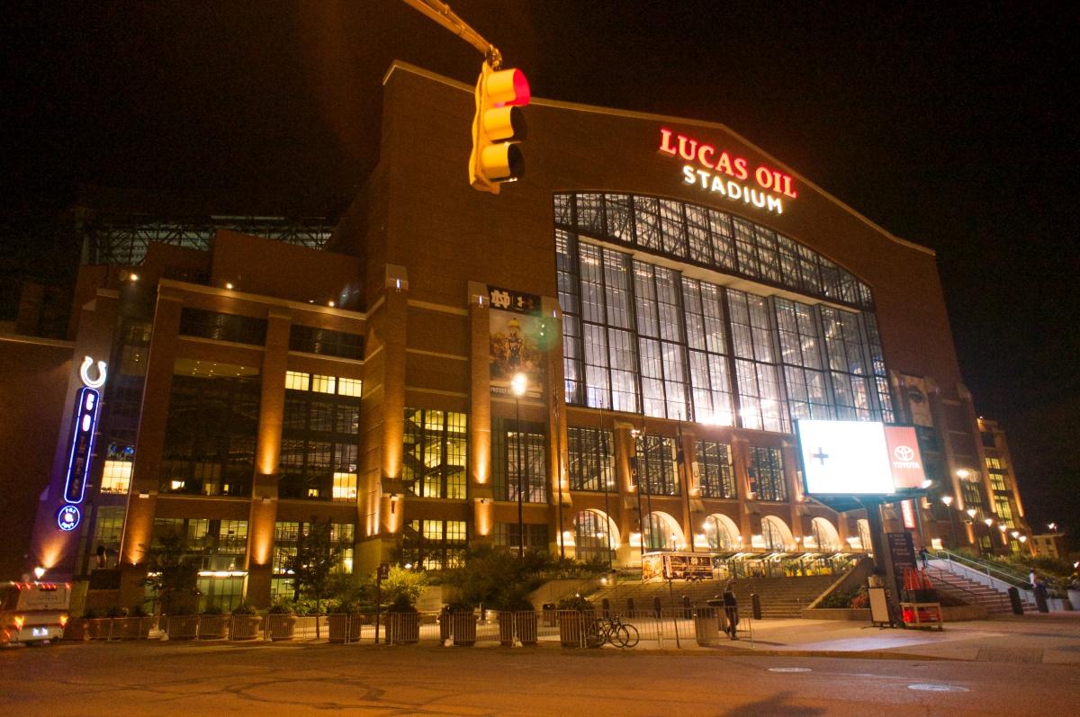 Lucas Oil Stadium Indianapolis In Beck S Stadium