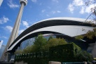 The back of Rogers Centre - Toronto, Canada