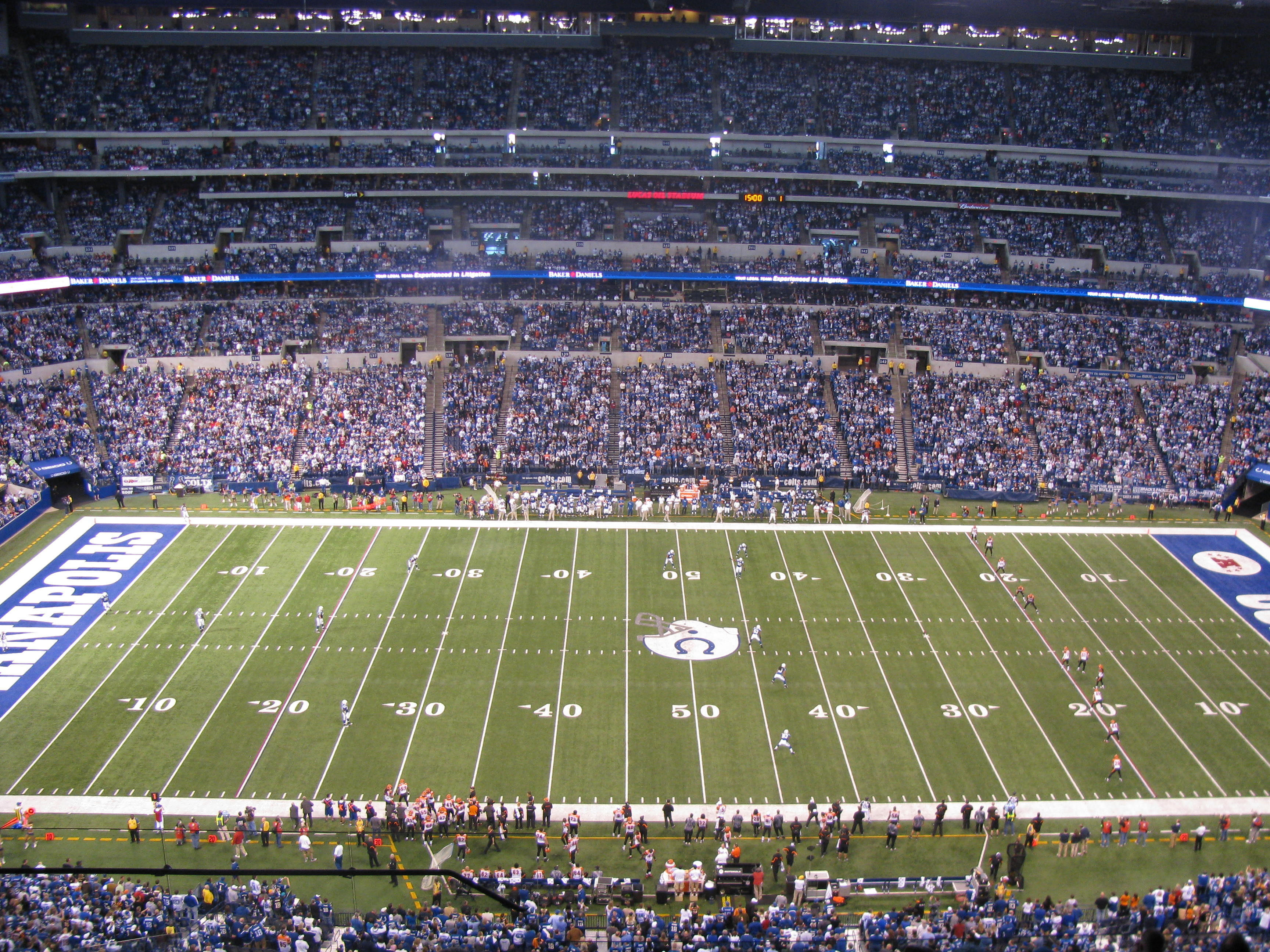Indianapolis Colts | BECK'S STADIUM PIZZA BLOG